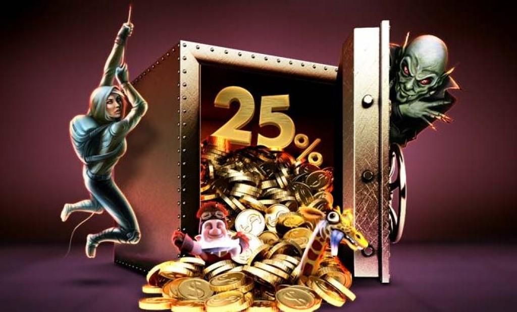 Bet365 Vegas: 25% feltöltés ezen a hétvégén